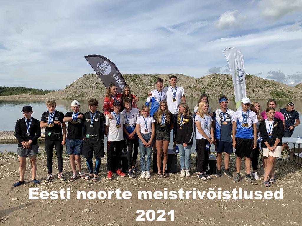 Ida-Virumaal, Aidu veespordikeskuses, selgusid 2021.a. täiskasvanute ja B-vanuseklassi Eesti meistrid rajaaerutamises. Kanuudel võisteldi ühe-ja kahepaatidel, s